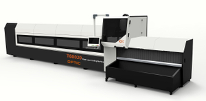 Metal Tube Pipe Fiber Laser Cutting Machine Price 1000W