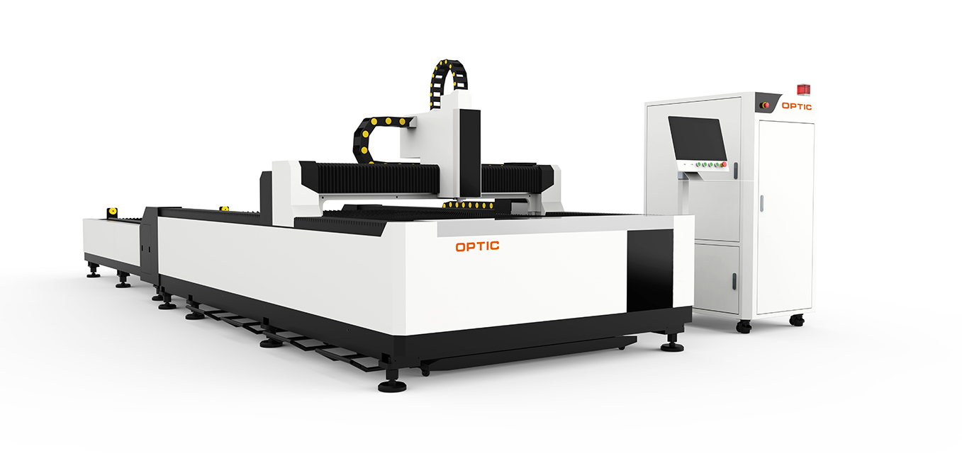 Open Type Fiber Laser Cutting Machine with exchange table OPT-1530GW