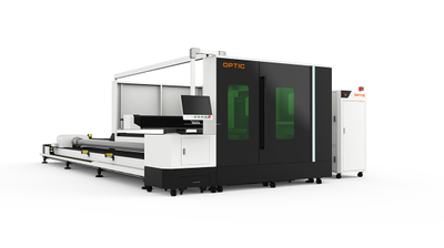 Fully Enclosed Plate And Tubes Fiber Laser Cutting Machine OPT-C1530GT